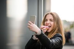 Sweet teen life Stock Images