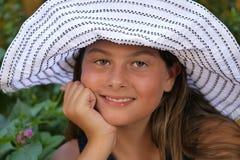 Sweet teenager Stock Image