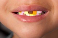 Sweet teeth Royalty Free Stock Image