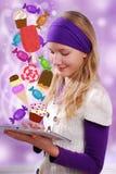 Sweet temptation Royalty Free Stock Image