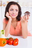 Sweet temptation. Stock Photo
