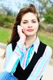 Sweet tenage girl Stock Image