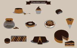 Sweet Time Chocolate Lover Stock Images