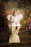 Sweet Toddler Angel royalty free stock photos