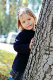 Sweet toddler girl Royalty Free Stock Photos