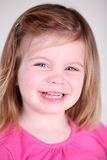 Sweet Toddler girl portrait. Close-up Stock Photos