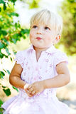 Sweet toddler girl Royalty Free Stock Photo