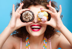 Sweet tooth Stock Photo