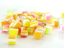 sweet topping sugar jelly Royalty Free Stock Photography