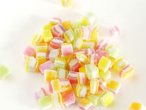 Sweet topping sugar jelly Stock Images