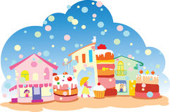 Sweet Town Stock Images