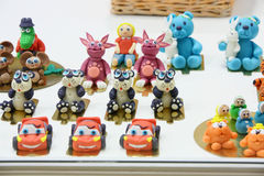 Sweet toys at press open cafe Anderson Stock Image