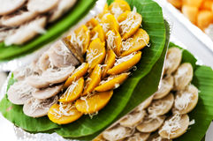 Sweet Traditional Thai Dessert Stock Image
