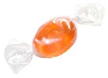 Sweet in transparent package Stock Photos