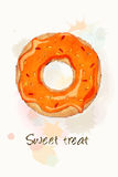 Sweet treat orange Royalty Free Stock Photo