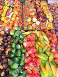 Sweet Treats. Delicious looking colorful candy stock image