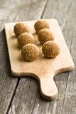 Sweet truffles Stock Images