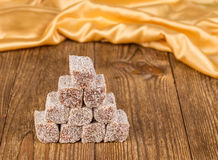 Sweet turkish delight. Royalty Free Stock Photos