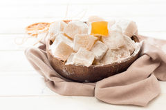 Sweet Turkish delights Royalty Free Stock Images