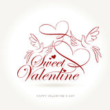Sweet valentine Royalty Free Stock Image