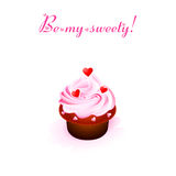 Sweet Valentine card Royalty Free Stock Photography