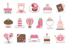 Free Sweet Valentine Love Icons Stock Photos - 36681683
