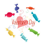 Sweet Valentine`s Day Stock Photos