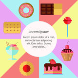 Sweet vector collection. Stock Photo