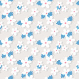 Sweet vector pattern with small flower Royalty Free Stock Photography