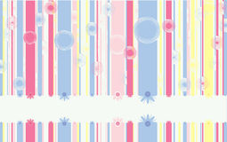 Sweet vertical lines Stock Images