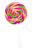 Sweet Vibrant Lollipop Stock Photography