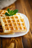 Sweet Viennese wafers Stock Image