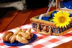 Sweet vintage picnic Royalty Free Stock Photography