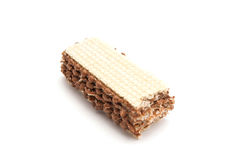 Sweet wafer closeup Royalty Free Stock Images