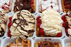 Sweet Waffle Royalty Free Stock Photography