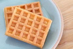 Sweet waffle Stock Images