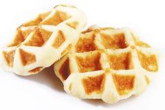 Sweet waffles Stock Photos