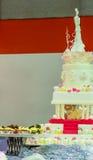 Sweet wedding cake. Stock Image