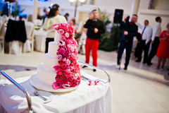 Sweet wedding cake Royalty Free Stock Photography