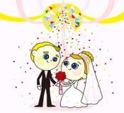Sweet wedding Royalty Free Stock Photos