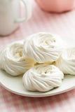 Sweet white meringue. Stock Images