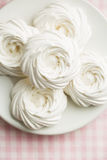 Sweet white meringue. Royalty Free Stock Image