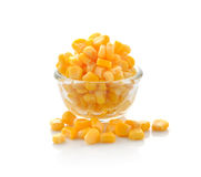 Sweet whole kernel corn Royalty Free Stock Image
