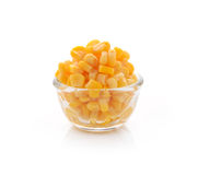 Sweet whole kernel corn Stock Photo
