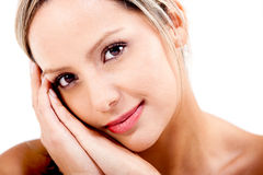 Sweet woman Royalty Free Stock Images