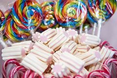 Sweet world. A world full of delicious sweets Royalty Free Stock Images