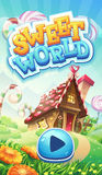 Sweet world mobile GUI pack loading screen Stock Photos