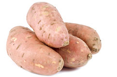 Sweet Yams or Potatoes Royalty Free Stock Image