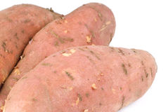 Sweet Yams or Potatoes Stock Image