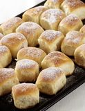 Sweet yeast buns Royalty Free Stock Images